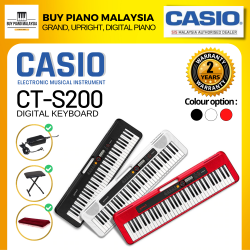 Casiotone CT-S200 Portable Keyboard with 61 Keys Crazy Gifts