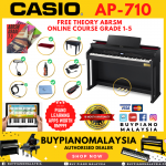 Casio Celviano AP710 (88-Key Digital Piano Package)