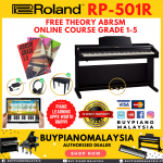 Roland RP501R (88-key Digital Piano Package)