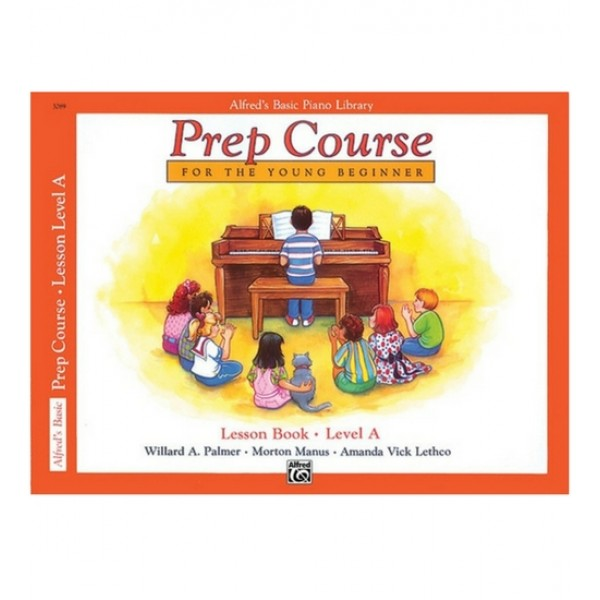 Alfred's Basic Piano Prep Course Lesson For The Young Beginner Lv A