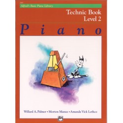 Alfred's Basic Piano Library Technic Book Level 2