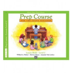 Alfred's Basic Piano Prep Course Lesson For The Young Beginner Lv C