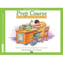 Alfred's Basic Piano Prep Course Activity & Ear Training Book C