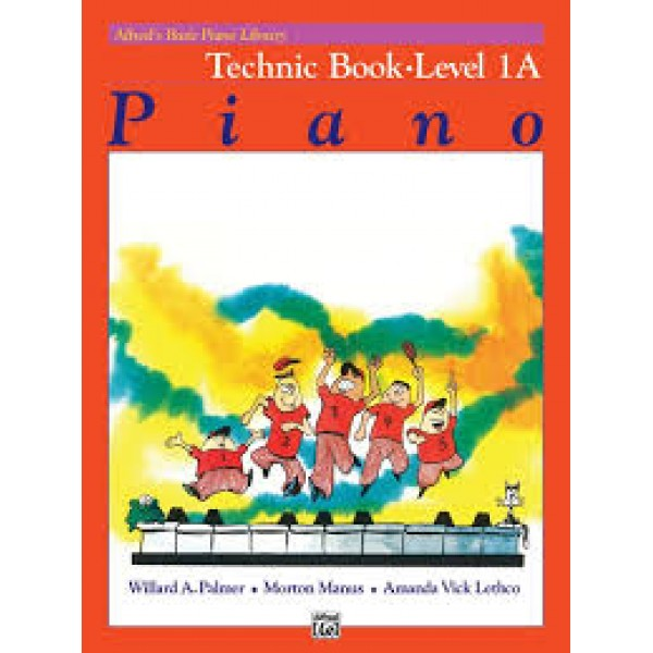 Alfred's Basic Piano Technic Book 1A