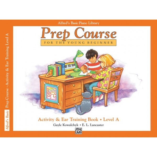 Alfred's Basic Piano Prep Course Activity & Ear Training Book A
