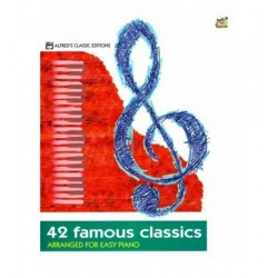 Alfred's Classic Edition; 42 Famous Classics Arranged for Easy Piano