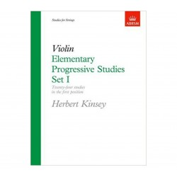 Violin Elementary Progressive Studies Set 1