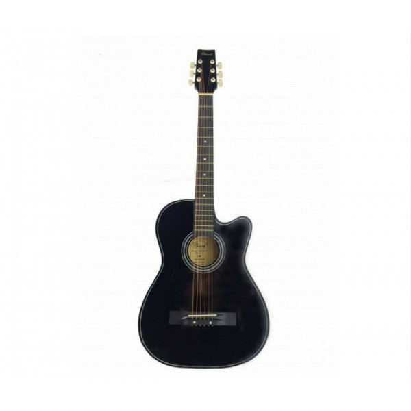 Chard 38inch Acoustic Guitar-Black
