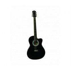 Morrison DCA1C 39inch Acoustic Guitar - Black