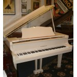 Yamaha G2 White Grand Piano (2 PEDAL)